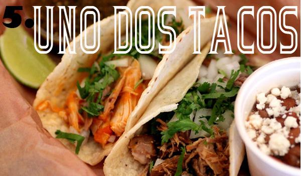 Uno Dos Tacos Lunch SF