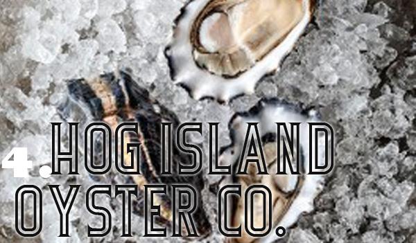 Hog Island Oyster lunch SF