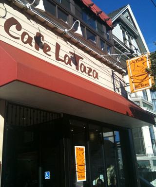Cafe La Taza exterior