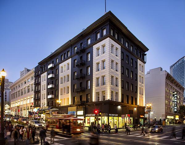 Hotel Union Square Exterior